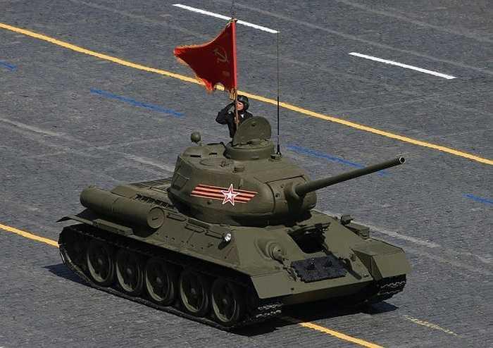 Xe tăng T-34 huyền thoại trong Thế chiến II