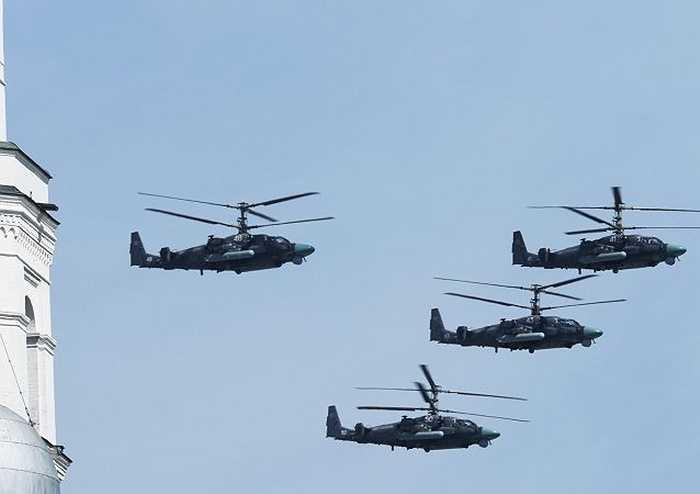 Các trực thăng chiến đấu Ka-52