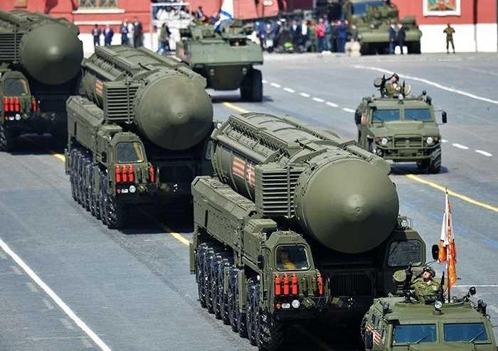 Tên lửa đạn đạo liên lục địa RS-24 Yars