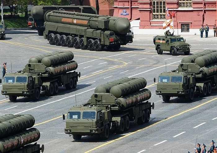 Tên lửa phòng không S-400