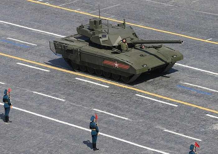 Xe tăng tối tân T-14 Armata