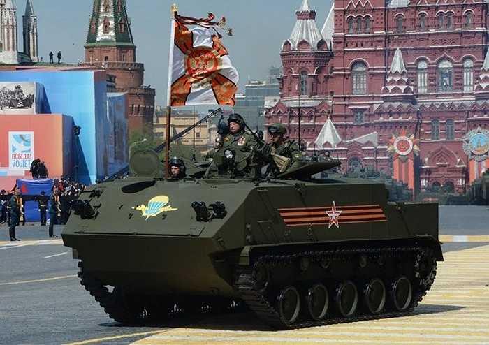 Xe bọc thép chở quân mới của Nga