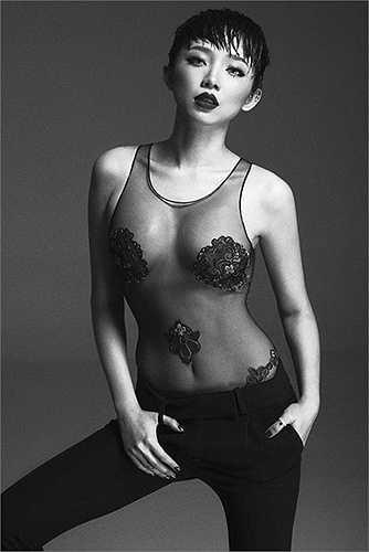 Giọng ca sinh năm 1989 từng thực hiện nhiều shoot hình thời trang bốc lửa
