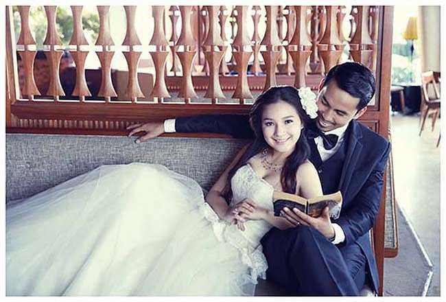 Bên cạnh sự nghiệp, Duy Nhân còn có cuộc hôn nhân hạnh phúc.