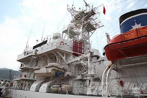 Tàu Cảnh sát biển, Nhật Bản, chiến hạm, tàu khu trục, cảng Tiên Sa, Đà Nẵng