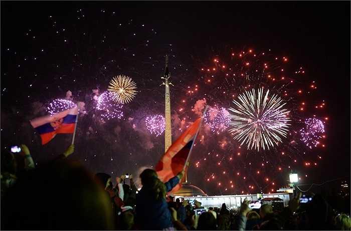 Có khoảng 30 lãnh đạo các nước đến tham dự lễ duyệt binh của Nga