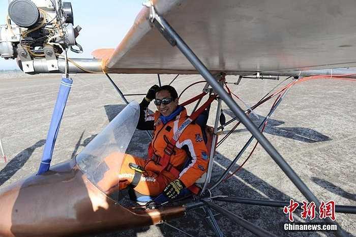 Máy bay sải cánh 9,5 mét, dài 5 mét, cao 2,7 mét và nặng 110 kg