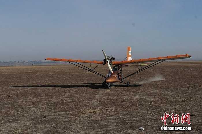 Chiếc máy bay này được thiết kế tốc độ tối đa 120 km/h, tốc độ bay trung bình 80km/h