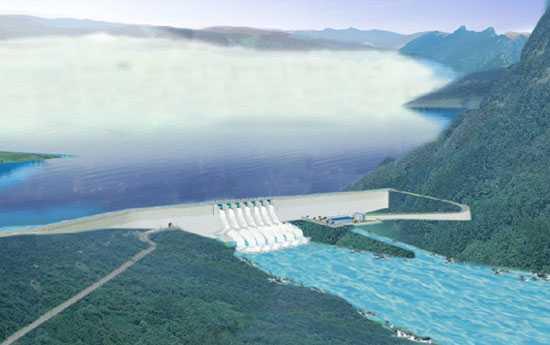 Sơ đồ hệ thống thủy lợi Tân Mỹ, tỉnh Ninh Thuận
