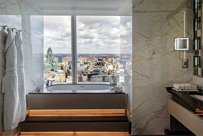 Giá phòng ở đây 10.000 bảng Anh/đêm (khoảng 320 triệu đồng) cho căn phòng 188m2 với đầy đủ tiện nghi