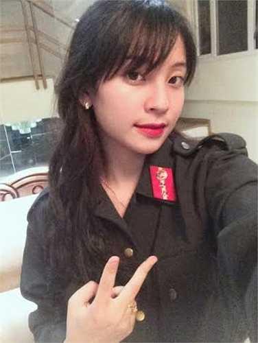 Cô bạn hiện đang là học sinh trường THPT Nguyễn Huệ, Yên Bái.