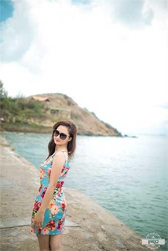 Vẻ đẹp của chị Linh không thua kém gì các hot girl