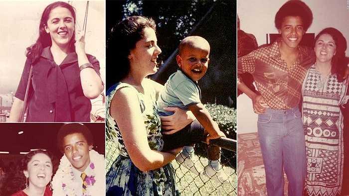 Tổng thống Obama và những bức ảnh chụp cùng mẹ, bà Ann Dunham