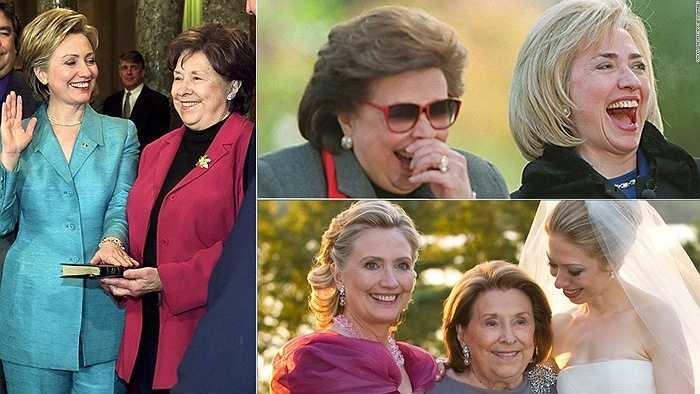 Bà Hillary Clinton mẹ, bà Dorothy Howell Rodham