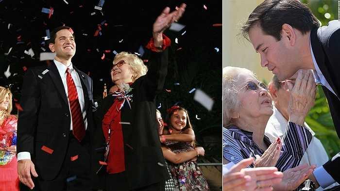 Thượng nghị sĩ Marco Rubio và mẹ