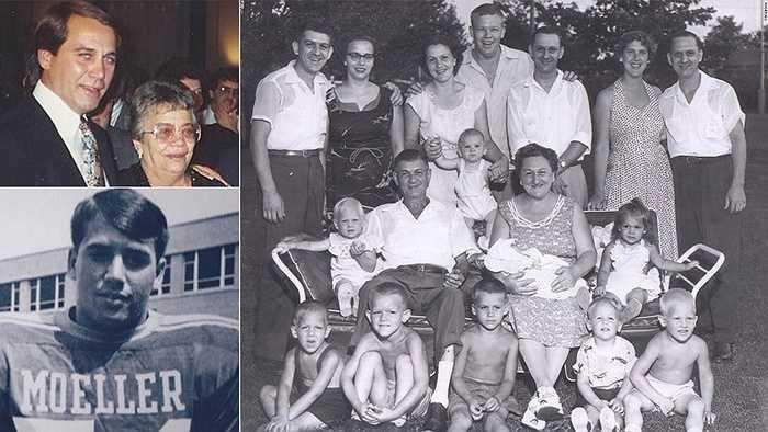 Người phát ngôn Nhà Trắng John Boehner và bức ảnh về người mẹ đã mất, bà Mary Ann Boehner
