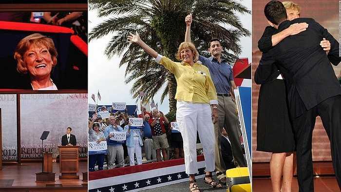 Chính trị gia đảng Cộng hòa Paul Ryan và mẹ