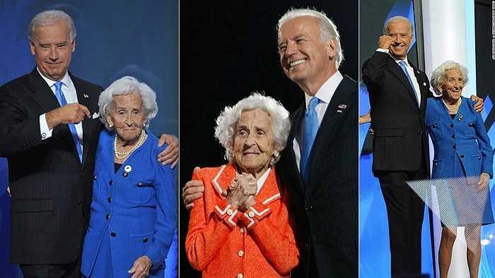 Phó Tổng thống Joe Biden và mẹ, bà Jean Biden