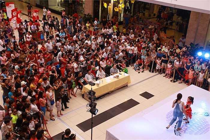 Trong hai ngày 09 và 10/5 vừa qua, Bước nhảy hoàn vũ nhí 2015 đã có vòng loại sơ tuyển đầu tiên tại Hà Nội.