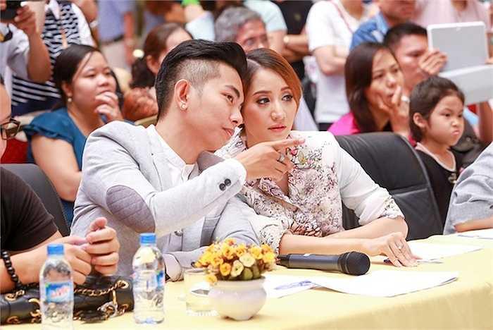 Nhiều điều bất ngờ đến từ các thí sinh dự thi trước sự khảo nghiệm của hai giám khảo: Kiện tướng Dancesport Khánh Thi và Phan Hiển.
