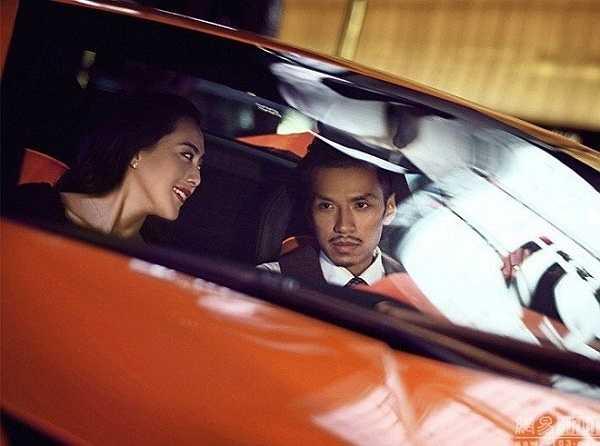 Bộ ảnh cưới của hai người được thực hiện tại nhiều địa điểm như Thái Lan, Lhasa và Tây Tạng.