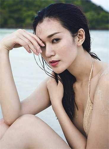 Khánh My cũng là một giai nhân gợi cảm của showbiz Việt.