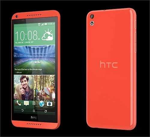 4. HTC Desire 816: Thêm một cái tên nữa của HTC được xếp vào danh sách smartphone 2 sim đáng mua hiện nay. Chiếc HTC Desire 816 là smartphone tầm trung nhưng lại có cấu hình khủng với chíp lõi tứ Qualcomm Snapdragon 400, Ram 1,5 GB, chạy trên nền Android 4.4 Kitkat. Cấu hình khủng, chụp ảnh đẹp với camera sau 13 MP cùng tính năng 2 sim Desire 816 là lựa chọn của nhiều người. Giá tham khảo là 6,9 triệu đồng.