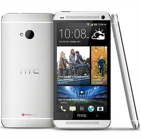 10. HTC One M7 Dual SIM: Chiếc điện thoại 2 sim này được trang bị màn hình Super LCD rộng 4.7 inch (1080 x 1920 pixels), dùng SoC lõi tứ Qualcomm APQ8064 xung nhịp 1.7 GHz, kết hợp cùng RAM 2GB, ROM 16GB. Giá tham khảo: 5,9 triệu đồng.