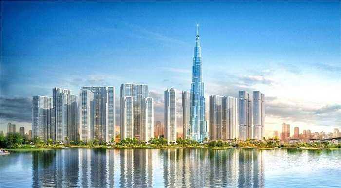 Đây là công trình phức hợp có tổng diện tích sàn xây dựng 141.000m2, bao gồm các không gian chức năng như: khách sạn; căn hộ dịch vụ; căn hộ thương mại Officetel; trung tâm mua sắm và các nhà hàng, bar, tầng quan sát....