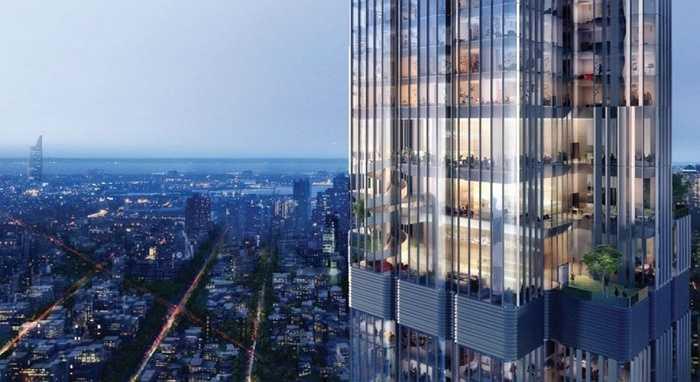 Hệ thống khoảng 900 căn hộ dịch vụ cao cấp Vinhomes và căn hộ Thương mại Oficetel cao cấp, trong đó có căn hộ dịch vụ tiêu chuẩn 5 sao và căn hộ dịch vụ siêu sang 6 sao diện tích 400m2 với góc nhìn 180 độ.