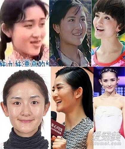 Tạ Na là MC hàng đầu của Trung Hoa và đang có cuộc sống hạnh phúc bên Trương Kiệt. Vẻ đẹp của cô khiến nhiều tài tử xao xuyến. Nhưng khi lật lại thời kỳ quá khứ có thể thấy, Tạ Na có gương mặt béo và thuộc hàng 'xấu nữ'. (Nguồn: Vietnamnet)