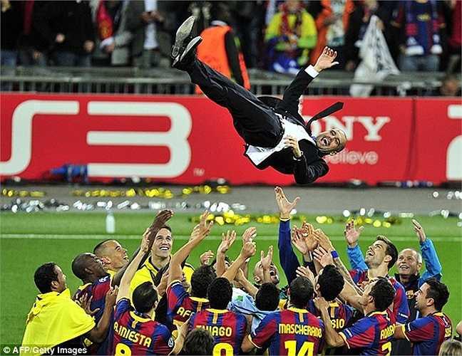 Cũng không thể không kể đến Pep Guardiola, người đặt nền móng cho Dream Team 2.0 trong lịch sử CLB