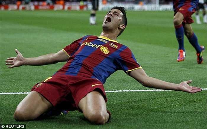 Với sự bổ sung David Villa cùng những nhân tố như Victor Valdes, Xavi, Busquets, Iniesta và tất nhiên là Messi, Barca quá mạnh so với Quỷ đỏ thời điểm đó