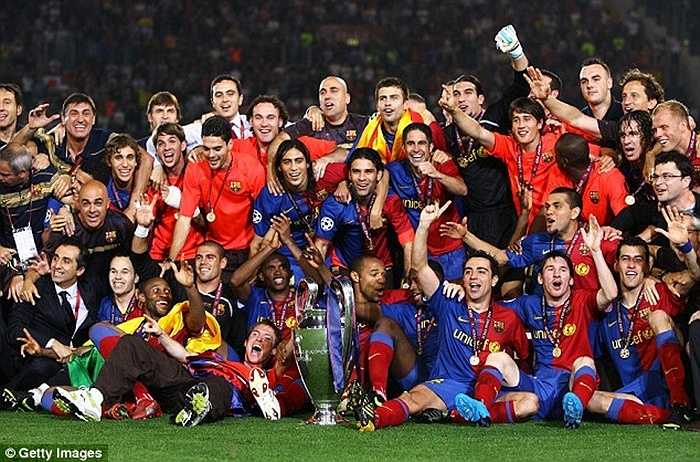 3 năm sau, Barca lần thứ hai vào chung kết. Vào thời điểm này, Messi đã là trụ cột không thể thay thế của đội bóng xứ Catalan