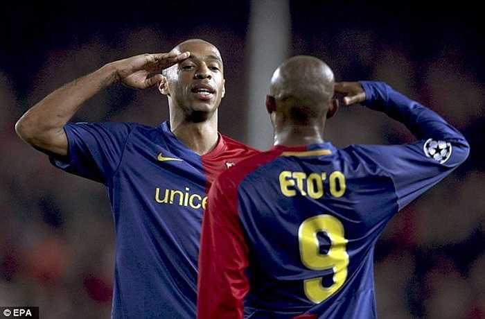Cùng với bộ đôi Henry, Eto'o, tam tấu H.E.M khuynh đảo cả châu Âu khi chạm ngưỡng 100 bàn thắng