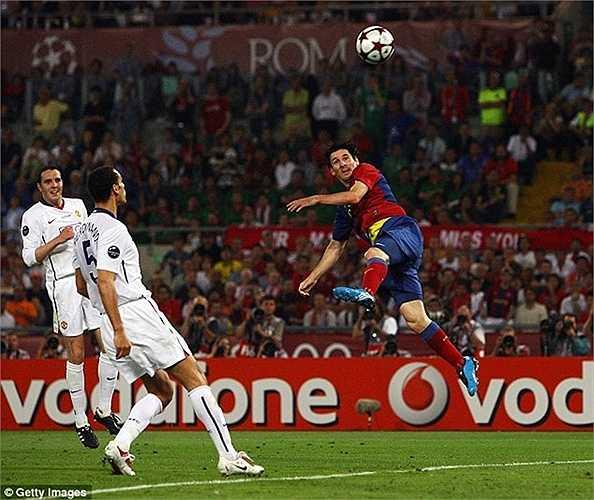 Với tổng điểm 107/120, đây cũng là Barca được Daily Mail đánh giá cao nhất lịch sử 4 lần vào chung kết