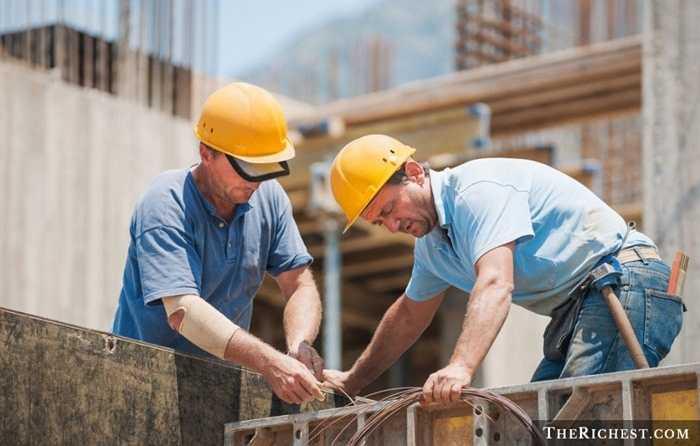Công nhân xây dựng. Tỷ lệ tử vong: 17,4/100.000 - Công nhân xây dựng là một trong những nghề nghiệp nguy hiểm nhất với đặc thù luôn luôn lao động trong tình trạng không bảo đảm đầy đủ an toàn và hoạt động mạnh, mệt mỏi