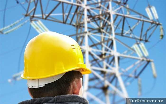 Kỹ sư dây điện. Tỷ lệ tử vong: 21,5/100.000 - Ai cũng hiểu sự nguy hiểm của việc 'đụng chạm' tới các dây điện cao thế và các ký sư dây điện có lẽ là người thấm thía nhất
