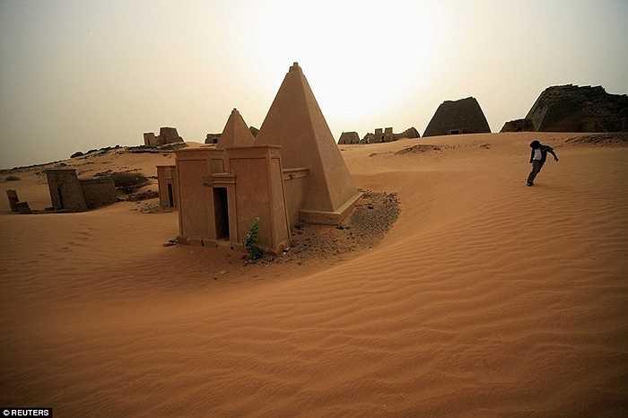 Đây từng là nơ ở những người cai trị của vương quốc Kush - văn minh sớm nhất trên sông Nin