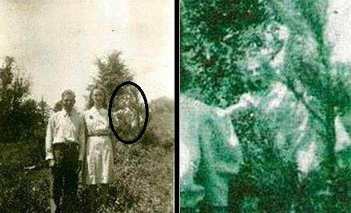 Thêm một lần nữa, một bức ảnh chụp lại được hình một bóng trắng bí ẩn