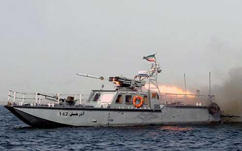 Tàu hải quân Iran