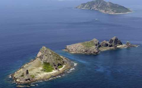 Khu vực quanh quần đảo tranh chấp Senkaku/Điếu Ngư giữa Nhật Bản với Trung Quốc