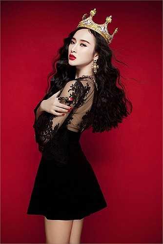 Thời trang tóc đẹp này khiến cô nàng đẹp tựa nữ thần.