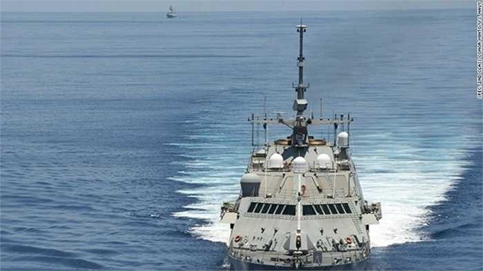 rong nhiệm vụ này, chiến hạm lớp Freedom của Mỹ đã tới gần các khu vực Trung Quốc đang xây dựng trái phép trên quần đảo Trường Sa của Việt Nam, CNN đưa tin