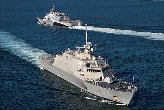 Giới chức Mỹ khẳng định USS Fort Worth chỉ hoạt động ở vùng biển quốc tế