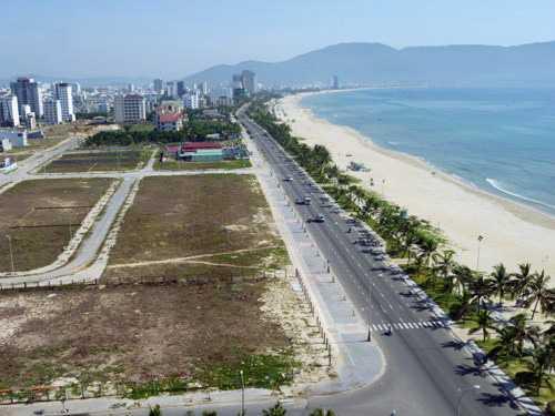 Sau khi điều chỉnh, giá đất cao nhất tại Đà Nẵng là 44,2 triệu đồng mỗi m2.