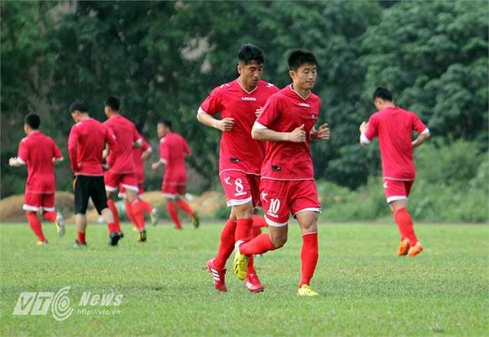 Không những có nhiều ngôi sao tầm cỡ châu Á,  CHDCND Triều Tiên còn là đội bóng sở hữu chiều cao lý tưởng.