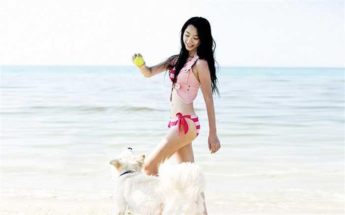 Nữ diễn viên kém Bae Yong Joon 13 tuổi.