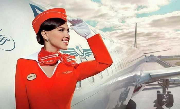 Đồng phục của Aeroflot được đánh giá là phong cách và thời trang nhất thế giới