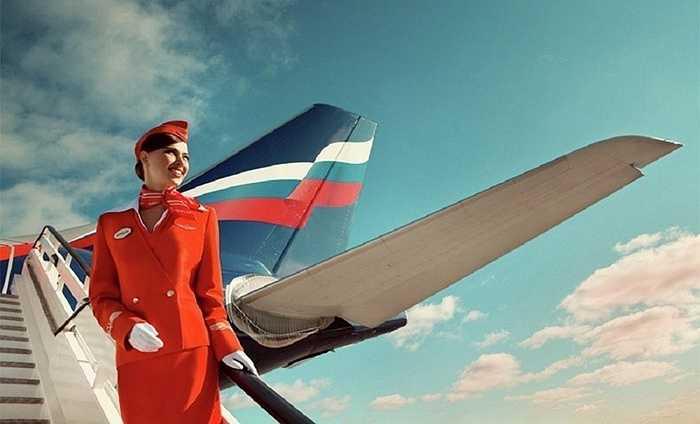 Nữ tiếp viên hãng Aeroflot